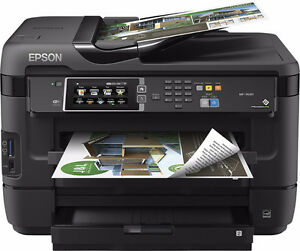 Wide-Format,High-volume all-in-one Epson WF-7620 Office Printer