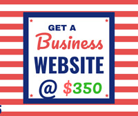 Get a Complete Business Website starts @ $350, Call6478793131