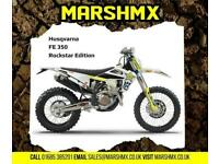 Husqvarna FE350 2021 Rockstar Edition-Nil Deposit Finance from 212/Mth