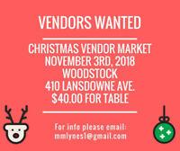 Christmas Vendor Market