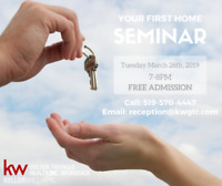 FREE Your 1st Home Workshop! The 1st Step Towards Your Dream!