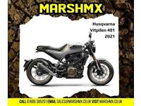 Husqvarna Vitpilen 401 2021 Model Street Bike-Nil Deposit Finance Available