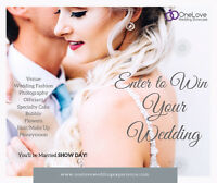 Win your Wedding + honeymoon ENTER TODAY!