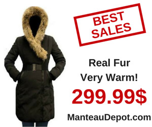 HUGE SALE ON ALL DUVET WINTER COATS WITH REAL FUR!! pajar rudsak