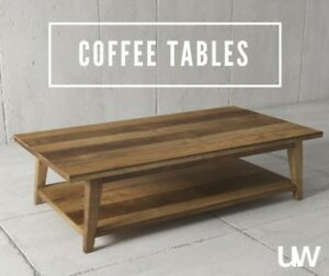 BEAUTIFUL RUSTIC COFFEE TABLES – WAREHOUSE PRICING