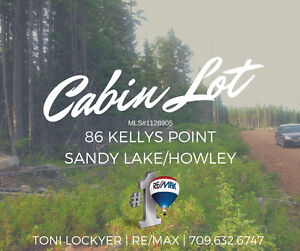 CABIN LAND 86 Kellys Point #Howley #ToniLockyer #ReMax