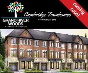 Pre-Constuction FreeHold Town Homes In Cambridge