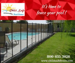 REMOVABLE POOL FENCE Moncton, Safety fence New Brunswick