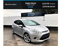 2010 FORD FIESTA 1.6 ZETEC S, 57K, EXCELLENT CONDITION, GREAT SERVICE HISTORY ST