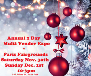 Need Christmas Gifts, Annual 2 Day Multi Vendor Expo