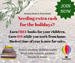 Join Usborne Books Today!!