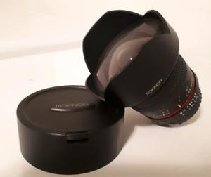 Objectif Rokinon 14mm pour Nikon