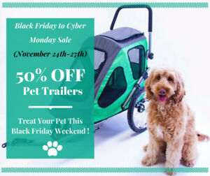 TAKE 50% OFF our Brand New Pet Trailer – Stroller