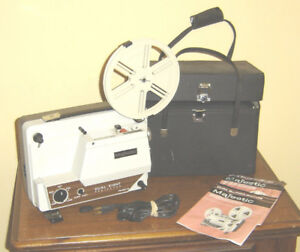 8MM Super 8 & Slide Projectors all tested $80 and up