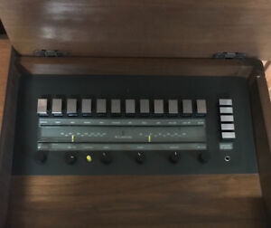 Clairtone console stereo for sale.