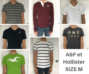 Abercrombie and Fitch & Hollister Men's Clothing Lot - Size M