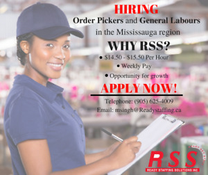 Order Picker and General Labour