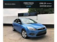 2009 FORD FOCUS 1.6 STYLE TDCI DIESEL, 97K, EXCELLENT SERVICE HISTORY