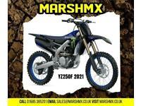 Yamaha YZ250F Monster 2021 Model Uk Bike 6Mth Warranty Finance from 176/Mth