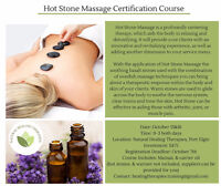 Hot Stone Massage Certification Course