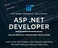 Jump into IT with Asp.NET Training: Project+100% Job Assist