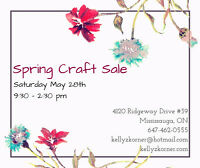 Spring Craft Sale Vendors Wanted