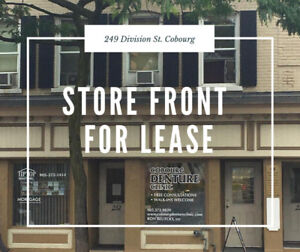 Store Frontage For Lease $1600 + HST - Downtown Cobourg
