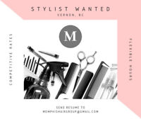 Stylist Wanted in Alpine Centre