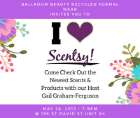 Scentsy at Ballroom Beauty Recycled Formal Wear