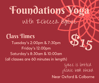 Foundations Yoga for All Levels