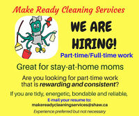 PART-TIME POSITIONS AVAILABLE!