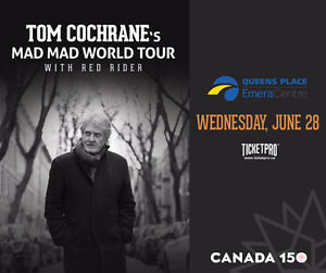 Tom Cochrane & Red Rider Mad Mad World in Liverpool NS