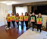 Paint Parties!!!