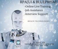 Robotic process automation (RPA) Online Training in New York