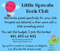 Little Sprouts Book Club   **NEW**