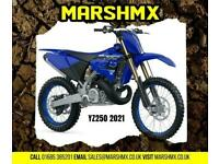 Yamaha yz250 2021 Model Uk Machine 6Mth Warranty-Finance from 164/Mth