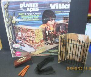 VINTAGE MEGO PLANET OF THE APES POTA VILLAGE PLAYSET