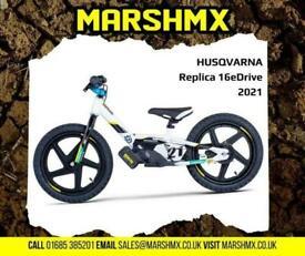 Husqvarna Replica 16eDrive Electric Balanace Bikes-Uk Delivery