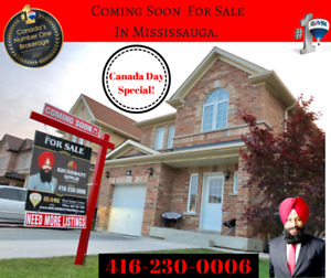 Attention Buyers !!! Detached House For Sale In Mississauga.