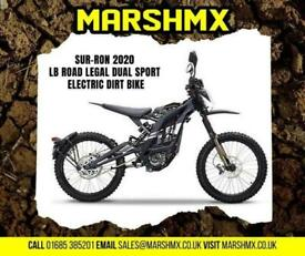 Surron 2021 LB Road Legal Dual Sport Electic Bike-Nil Depoist Finance 106/Mth
