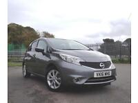 2016 16 Nissan Note 1.5dCi Tekna Diesel Manual with Navigation System