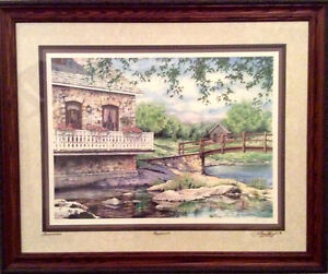 Signed Beautifully framed Laura Berry - Reflections