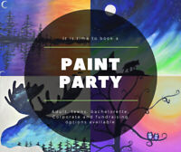 Girls Nights, Bachelorettes, Birthdays - In Home Paint Party