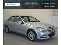 2012 62 MERCEDES-BENZ C CLASS 2.1 C220 CDI BLUEEFFICIENCY EXECUTIVE SE 4D AUTO 1