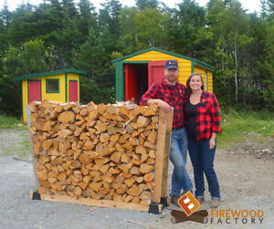 Firewood Factory: Birch and Black Spruce Firewood