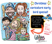Christmas Caricatures!