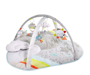 Skip hop silver lining cloud baby play mat activity gym
