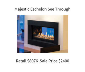 Gas Fireplace Warehouse Sale Now On