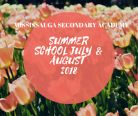 MSA Summer School Credit Courses