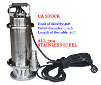 All 304stainless steel electric submersible pump144004